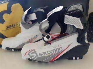 Botas Salomon Esquí Nordico mujer COMBI