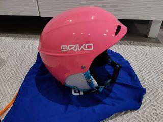 Casco esqui Briko muy poco usado