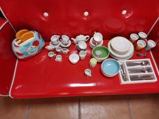 Juguetes cocinita de porcelana