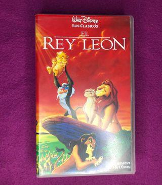 VHS El Rey Leon