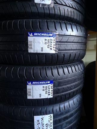 2 neumáticos 195/65R15 91H MICHELIN