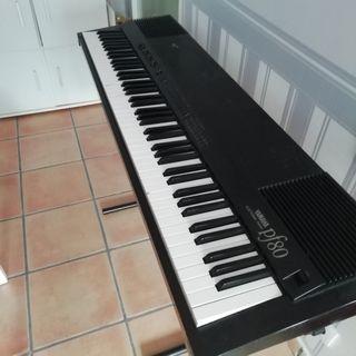 vendo piano electrónicYamaha pf80