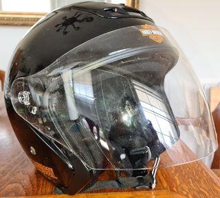 Casco de moto Harley Davidson
