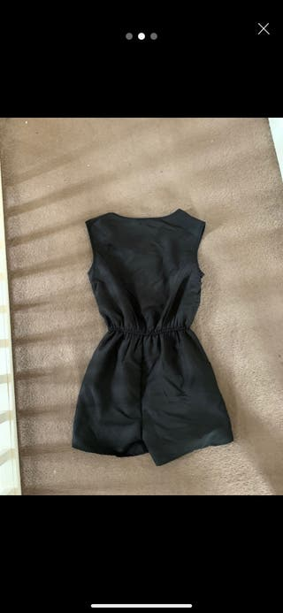 Primark black playsuit new with tags