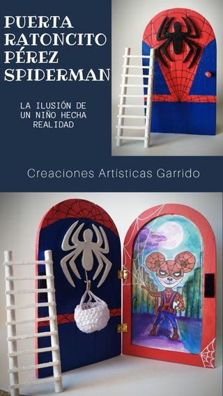 Puerta Ratoncito Pérez Spiderman