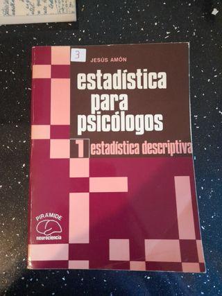 ESTADISTICAS PARA PSICÓLOGOS