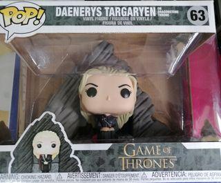 Daenerys en el trono de Rocadragón Funko Pop NUEVO