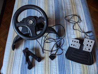Volante con pedales PlayStation. ¡¡Como nuevo!!