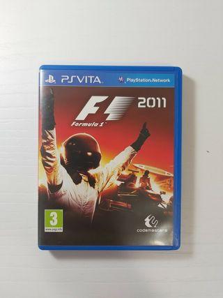 Juego F1 2011 Ps Vita