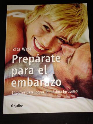 """Libro """"Prepárate para el embarazo"""""""