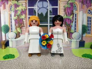 playmobil pareja novias mod 2