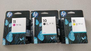 tinta hp 10 y 11 original