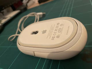 Raton Apple clasico (cable largo)