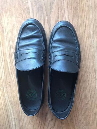 Zapatos escolares negro 39