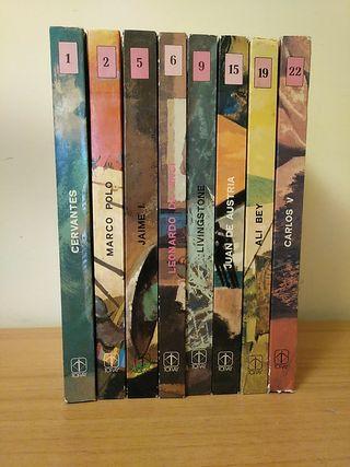 8 libros Hombres Famosos