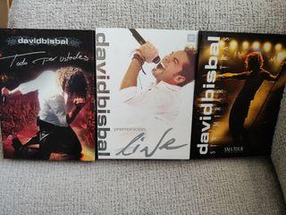 David Bisbal CDs y DVDs