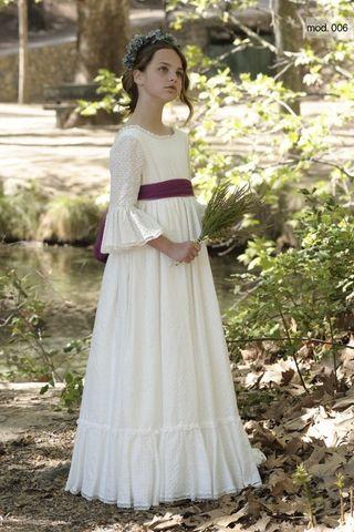 Vestido de comunión niña La Befana
