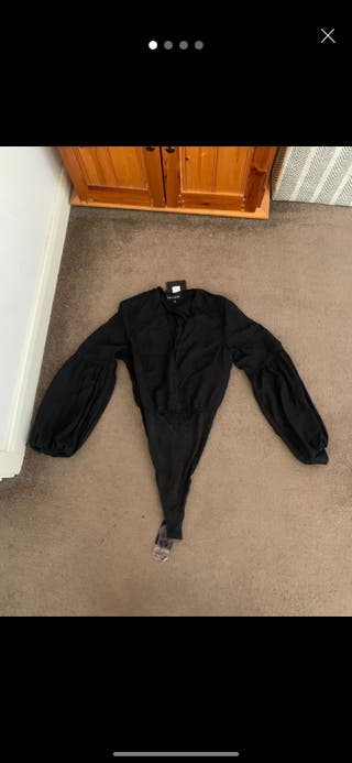 Pretty little thing black bodysuit