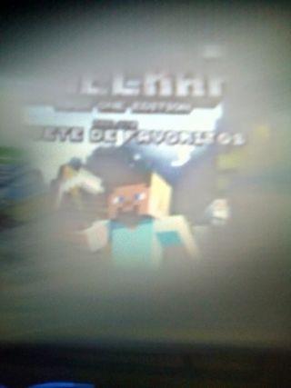 Xbox one Minecraft edición Xbox precio negociable