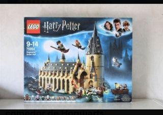NUEVO. LEGO HARRY POTTER. Gran comedor de Hogwarts