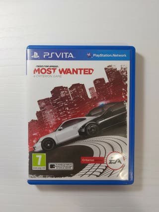 Juego Need for Speed Most Wanted Ps Vita
