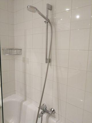 Alcachofa de ducha con manguera y grifo