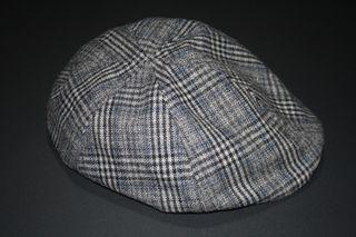 Gorra clásica gris hombre