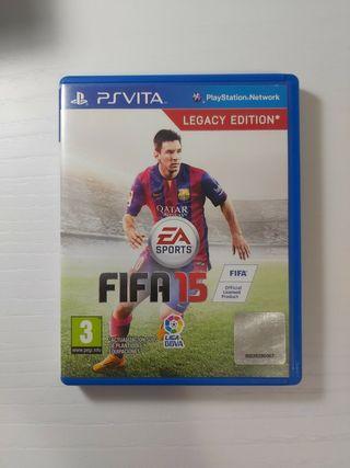 Juego Fifa 15 Ps Vita