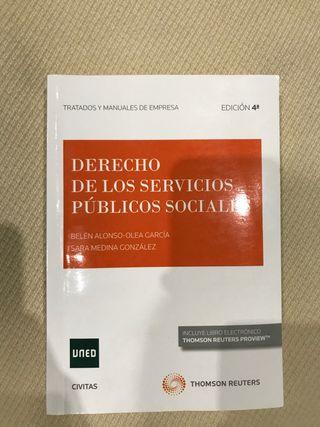 Derecho de los Servicios Públicos sociales Uned