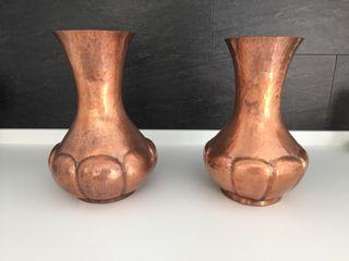 Jarrones de cobre