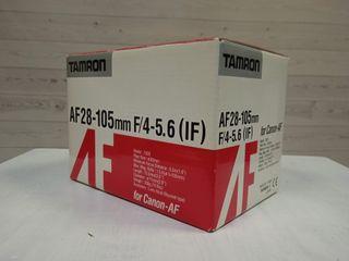 TAMRON AF28-105 F4-5.6 CANON