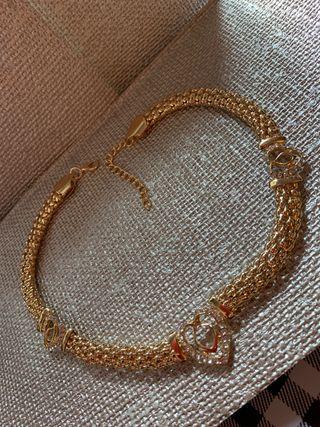Gargantilla collar Bijouterie oro Nuevo
