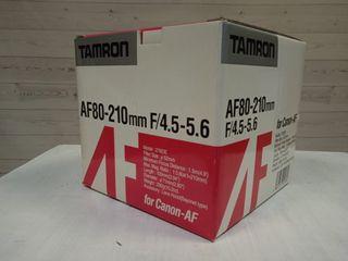 TAMRON AF80-120 F4.5-5.6 NIKON/CANON/MINOLTA