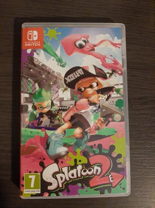 Splatoon 2 juego Nintendo Switch