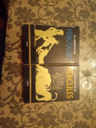 libros Minotauro y Hércules