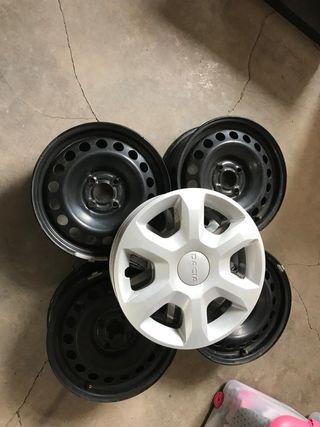 Llantas de acero para neumáticos 185/65/R15