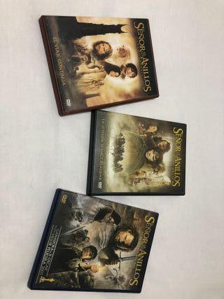 El señor de los Anillos DVD Triolgía