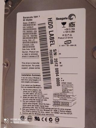 disco duro torre IdE