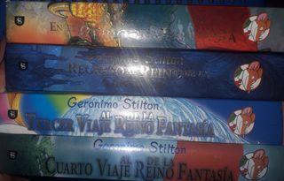 Geronimo Stilton saga Reino de la Fantasía