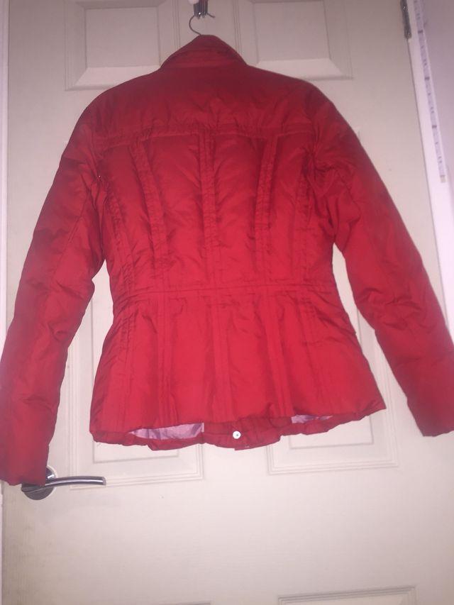 red tommy hilfiger coat