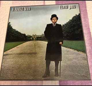 Vinilo Lp Elton John A SINGLE MAN