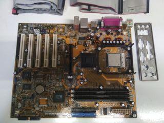 PLACA BASE ASUS P4S800 PENTIUM 4 (INTEL 2,80 GHz)