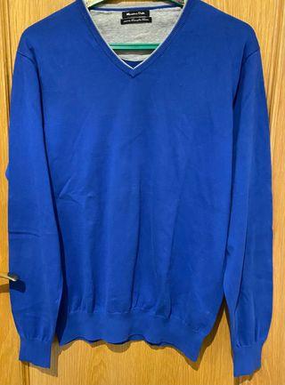 Jersey talla M Massimo Dutti , azul