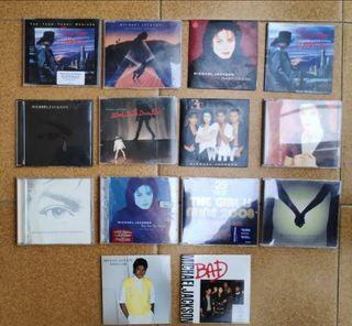 cd singles Michael Jackson