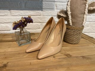 Zapatos stilettos nude