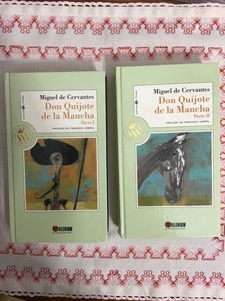 Libro: Don Quijote de La Mancha (2 volumenes)