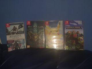 Juegos Nintendo Switch.