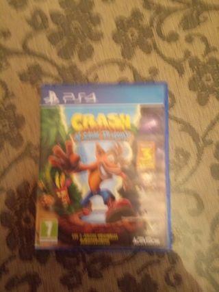 videojuego Crash Bandicoot N sabe trilogy