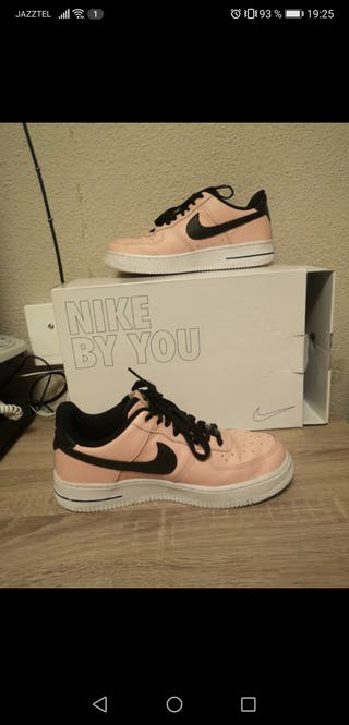 Air force personalizadas rosas y negras