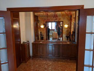 Aparador de entrada con espejo vintage